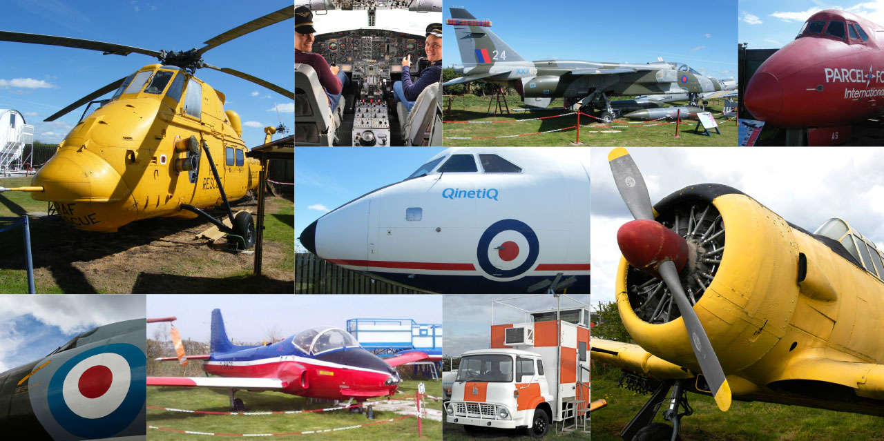 Bournemouth Aviation Museum Exhibits